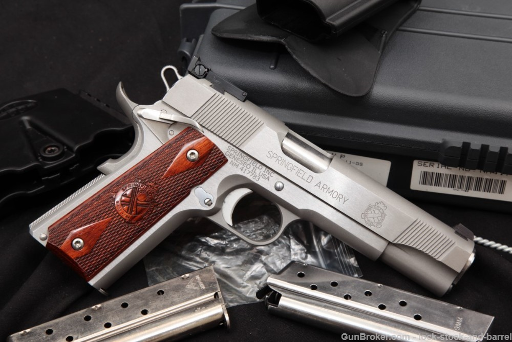 Springfield Armory 1911-A1 Loaded Target PI9134LP 9mm 5″ Semi-Auto Pistol