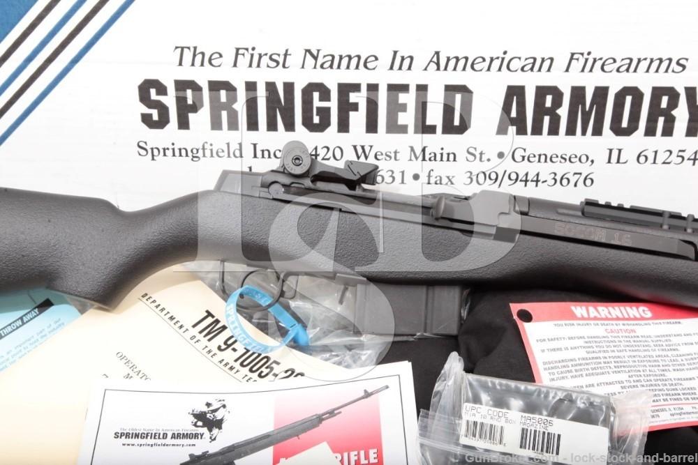 Springfield Armory M1A M1-A SOCOM 16 .308 Win 7.62mm NATO Semi-Auto Rifle
