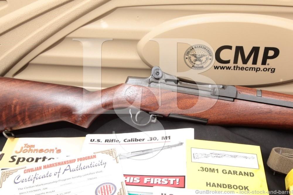 Springfield M1 Garand CMP Special 308 Semi-Automatic Rifle Case Accessories