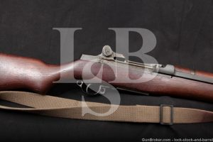 US WWII Springfield M1 M-1 Garand .30-06 Semi Automatic Rifle, MFD 1942 C&R