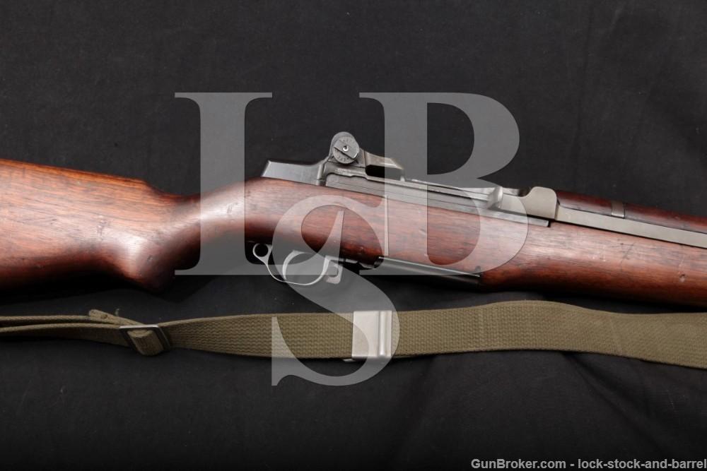 US WWII Springfield M1 M-1 Garand .30-06 Semi Automatic Rifle, MFD 1943 C&R