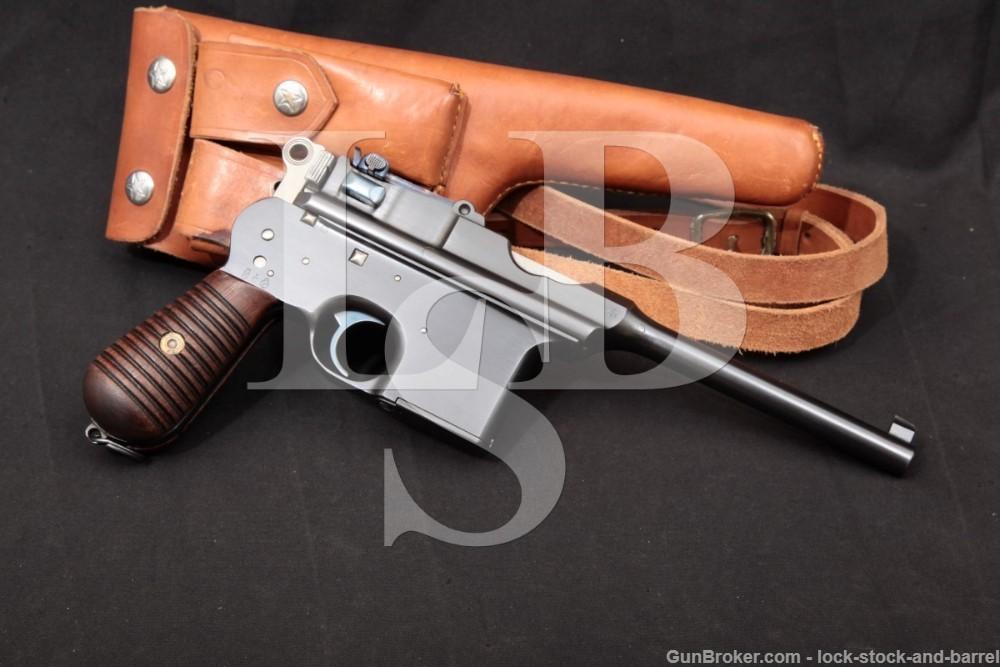 Unceta Astra Model 900 7.63x25mm .30 Mauser Semi-Auto Pistol, MFD 1929 C&R