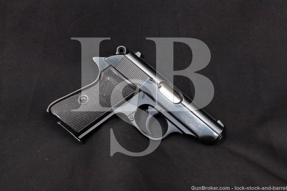 W. German Walther PPK/S PPKS PPK-S .380 ACP Semi-Auto Pistol, MFD 1969 C&R