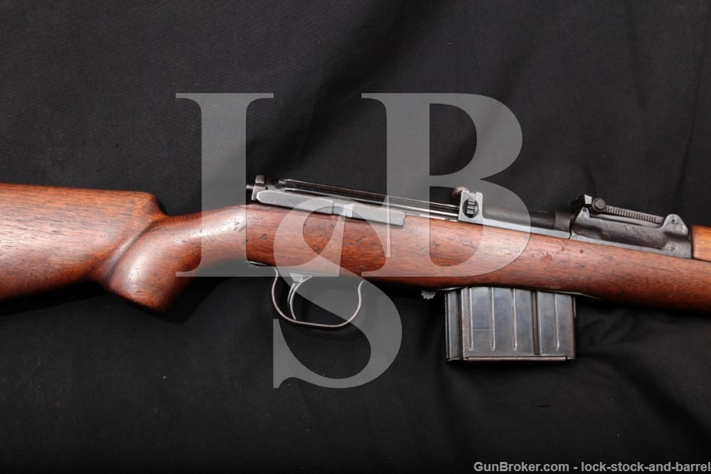 WWII Berlin-Lubecker Maschinenfabrik G43 G-43 K43 K-43 Semi-Auto Rifle, C&R