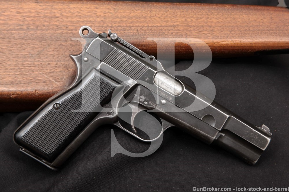 WWII Inglis MkI* Mk I* Hi Power Chinese Contract 9mm Semi-Auto Pistol, C&R