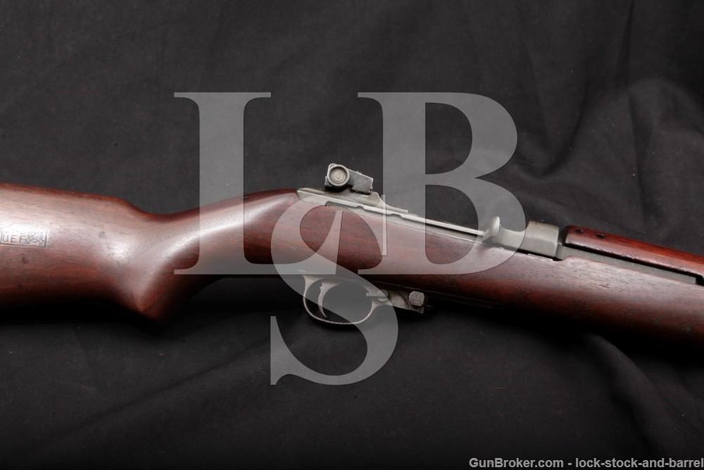 WWII US Quality Hardware M1 M-1 Carbine .30 Cal Semi-Auto Rifle, 1944 C&R