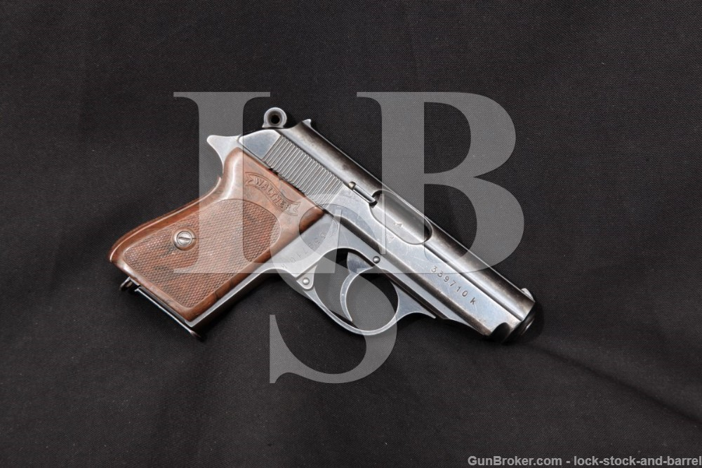 Walther Model PPK Commercial .32 ACP Semi-Auto Pistol, MFD 1939-1945 C&R
