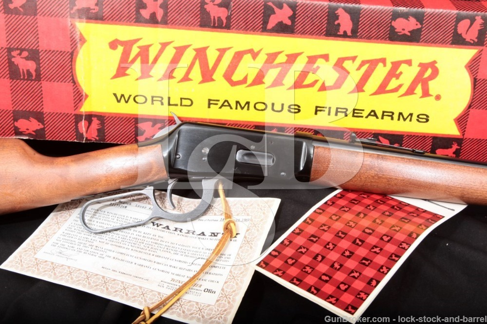 "Winchester Model 94 M 20"" .44 Magnum Lever Action SRC & Box, MFD 1969 C&R"