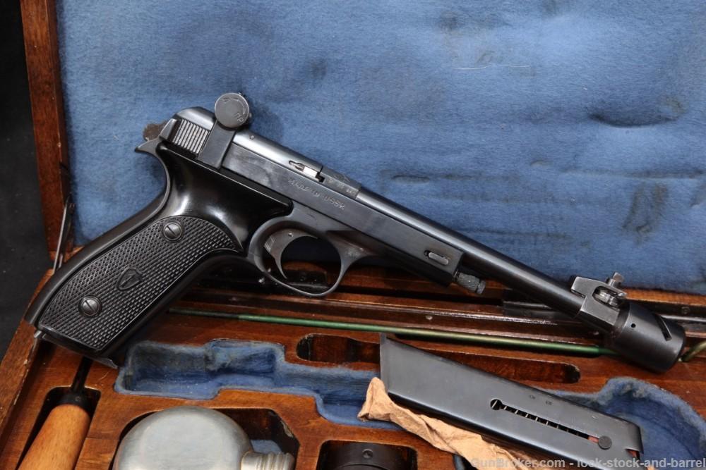 Izhevsk USSR Margolin MCM .22 LR Semi-Auto Olympic Target Pistol
