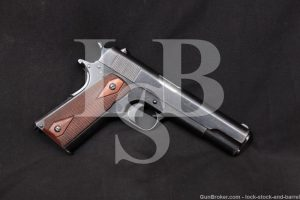 1st Argentine Shipment Colt 1911 .45 ACP Semi-Automatic Pistol, 1915 C&R