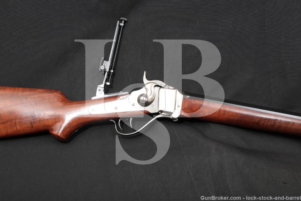 "C. Sharps Arms Old Reliable 1874 32"" Half-Octagon .45-110 2 7/8"" Rifle"