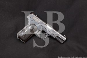Colt 1903 Pocket Hammerless Belgian Contract .32 ACP Semi-Auto Pistol, C&R