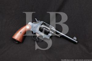 Colt New Service U.S. Army Model 1917 .45 ACP Revolver, MFD 1920 C&R