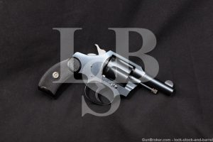 Colt Pocket Positive .32 Police/S&W Long Double Action Revolver, 1934 C&R