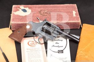 "Colt Trooper Model Pre-MK III 4"" .22 LR Double Action Revolver, 1957 C&R"