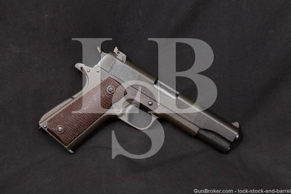 Colt US Model 1911-A1 M1911A1 Service Model Ace Slide .22 LR Pistol, C&R