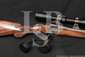 Dakota Arms Model 10 Deluxe .257 Roberts Single Shot Rifle & Zeiss Scope