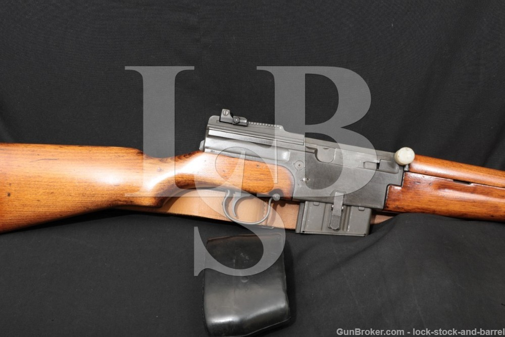 French MAS 1949-56 M49/56 7.5x54 Semi-Automatic Rifle 1958-60 C&R