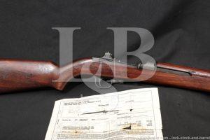 Inland Div. M1 Carbine .30 Cal Semi Automatic Rifle DCM Paperwork C&R
