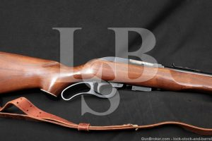Marlin Model 62 Levermatic Carbine, Rare Blue 20 Lever Action Rifle C&R