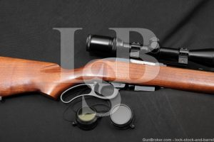 "Marling Model 62 Magnum Blue 24"" Lever Action C&R Rifle .256 Win Mag"