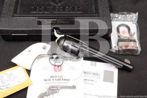 """Ruger New Model Vaquero 05117 Blue 5 1/2"""" .45 Colt SA Revolver, MFD 2007"""