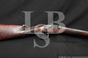Samuel Jean Pauly Breech Loading 20 GA Cartridge Shotgun, 1812-1827 Antique