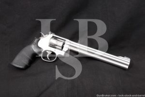 "Smith & Wesson S&W Model 617-4 .22 LR 8 3/8"" Stainless DA/SA Revolver NO CA"