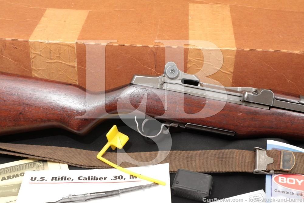 Springfield M1 Garand .30-06 CMP Marlin Barrel Semi Automatic Rifle C&R