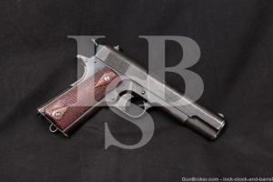 U.S. Springfield Model of 1911 US Army .45 ACP Semi-Auto Pistol, 1915 C&R