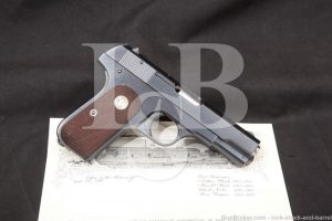 US Army General Officer Colt 1908 .380 ACP Semi-Auto Pistol, MFD 1944 C&R