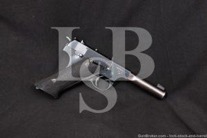 WWII Hi High Standard USA H-D Military HD .22 LR Semi-Auto Pistol, 1943 C&R