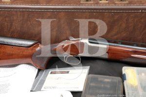 Browning Citori XT Trap 32? Ported 12 GA O/U Over Under Shotgun & Case
