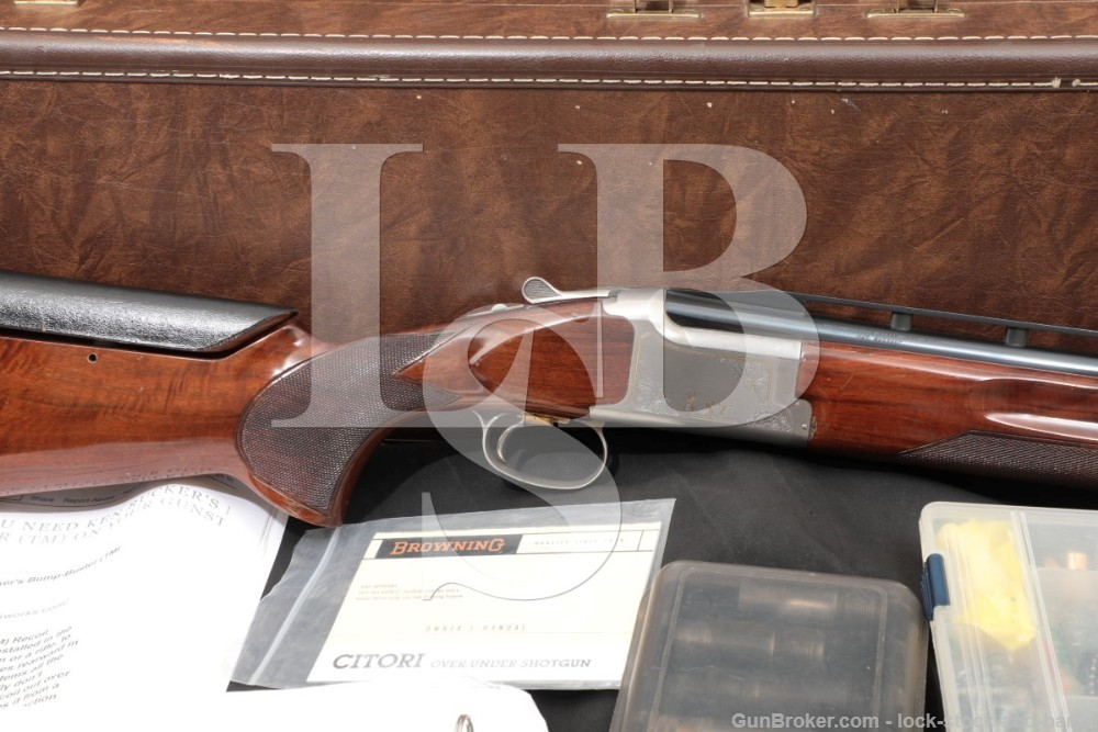 Browning Citori XT Trap 32? Ported 12 GA O/U Over Under Shotgun & Case