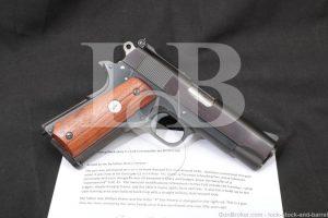 Armand Swenson Custom Colt Commander 1911 .45 ACP Semi-Auto Pistol 1970 C&R