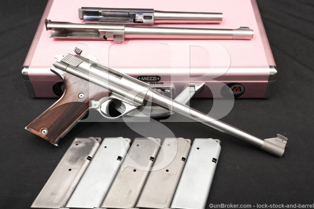 """AutoMag Auto Mag AMC TDE .357 & .44 AMP 8.5"""" & 6.5"""" Semi-Auto Pistol, ATF C&R"""