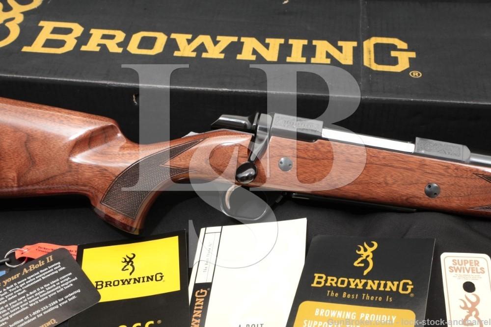 "Browning Model A-Bolt II Medallion .375 H&H 24"" Bolt Action Rifle MFD 2006"