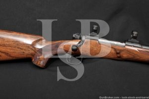Clayton Nelson Custom Winchester Model 70 Featherweight 270 Win Rifle, C&R