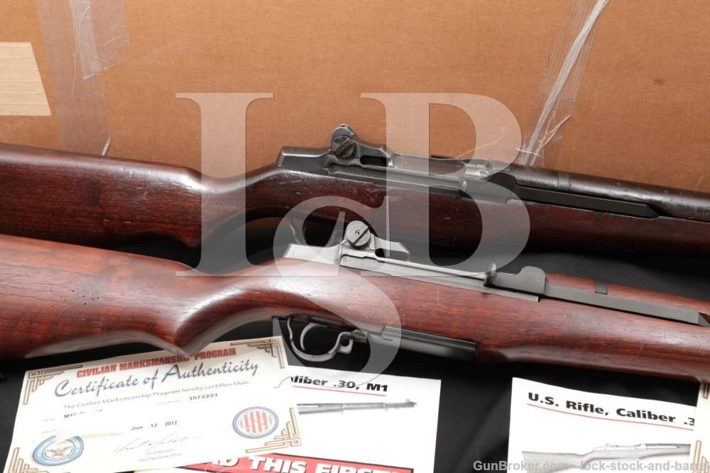Consecutive Serial Number M1-C Garand Sniper Rifles, M1C .30-06 SPRG