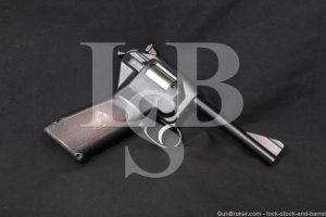 Dardick Corp Model 1500 .38 Cal Tround Magazine Fed Revolver, 1958-1962 C&R