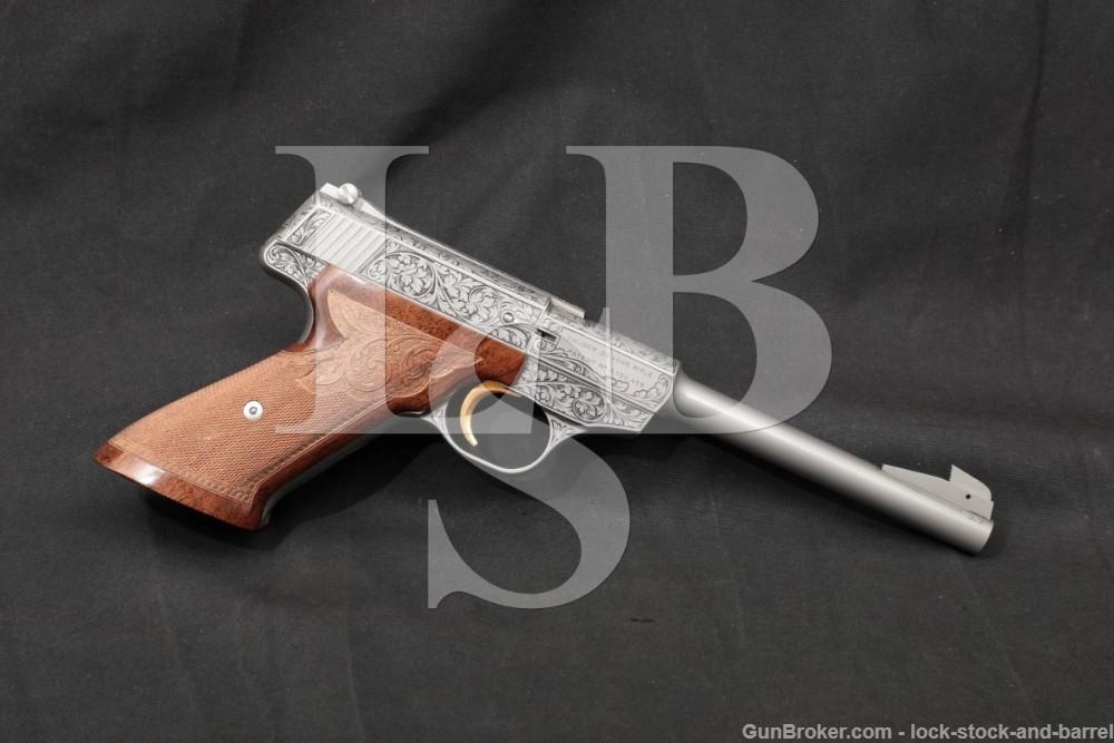 "FN Browning Model Challenger Renaissance .22 LR 6.75"" Semi-Auto Pistol 1972"
