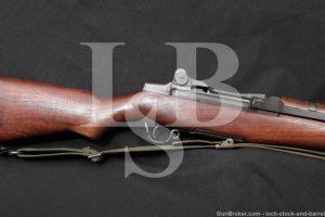 International Harvester M1 Garand .30-06 Matching Semi Automatic Rifle C&R