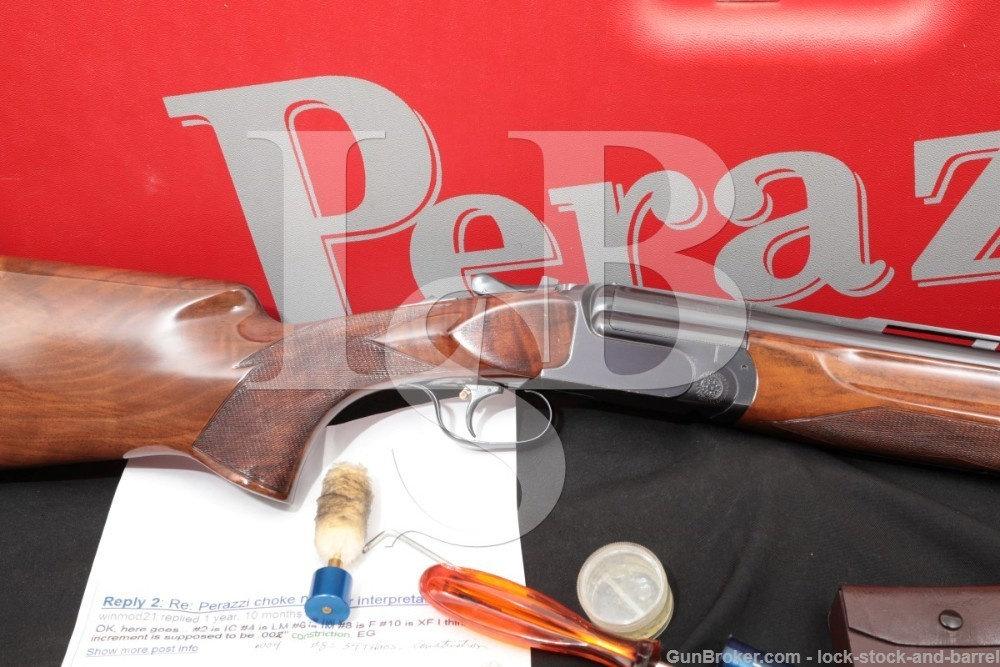 "Perazzi Winchester MX8 MX-8 Blue 31.5"" 12 Ga Over Under Shotgun MFD 1979"