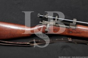 Remington Model 1903A4 03A4 .30-06 WWII Bolt Action Sniper Rifle 1943 C&R
