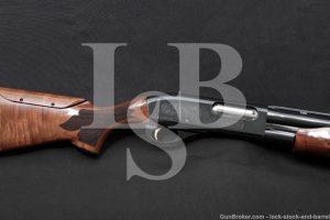 "Remington Model 870 Wingmaster Classic Trap 12 GA 30"" Ported Pump Shotgun"