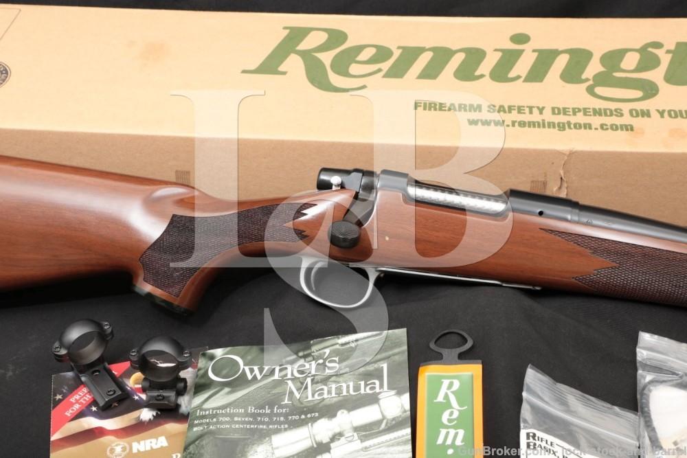 "Remington Model Seven CDL 7 .17 Rem Fireball 20"" Bolt Action Rifle MFD 2008"