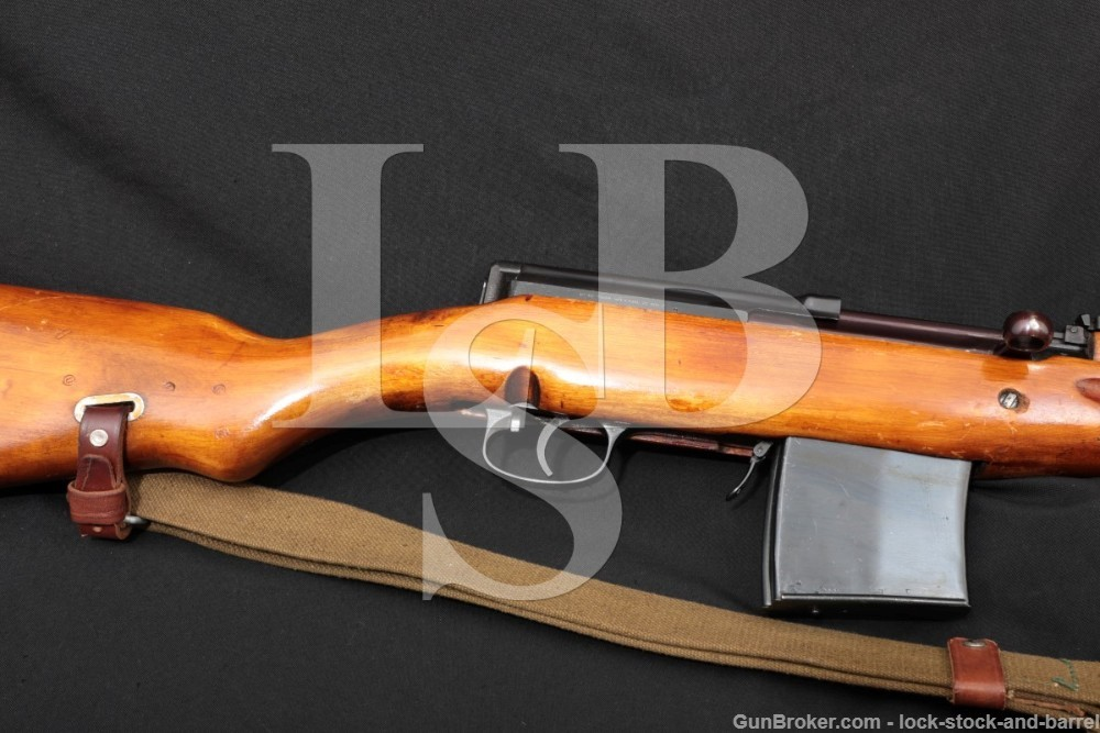 Russian SVT-40 SVT40 Tokarev 7.62x45R Semi-Automatic Rifle MFG 1942 C&R