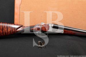 "SIACE Hatfield Boxlock Engraved 26"" 20 GA SXS Side by Side Shotgun, 1986"
