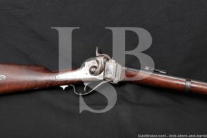 Sharps New Model 1863 .50-70 Gov't 1869 Conversion Rifle, MFD 1865 Antique
