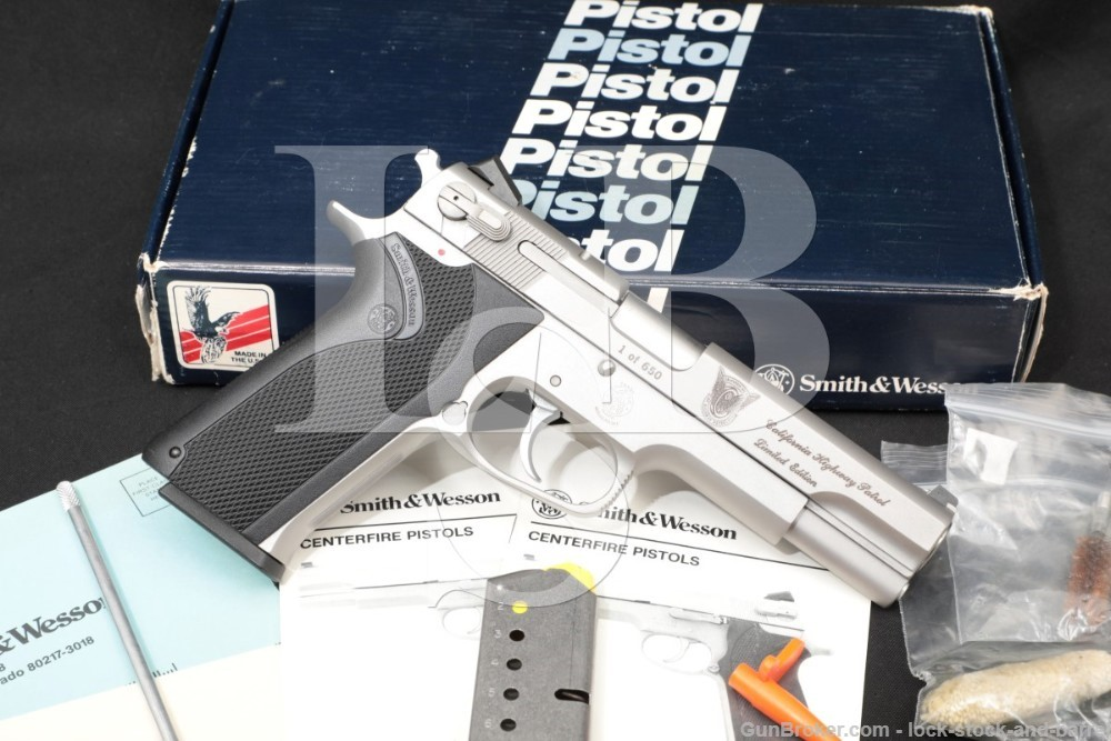 Smith & Wesson S&W Model 1006 CHP Limited Edition 25 of 650 10mm Pistol